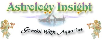 Gemini With Aquarius Zodiac sign (astrological sign) compatibility section.  Find out what sign you match with best, and what to look for (or look out for) in a mate.