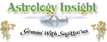 Sagittarius With Gemini Zodiac sign (astrological sign) compatibility section.  Find out what sign you match with best, and what to look for (or look out for) in a mate.